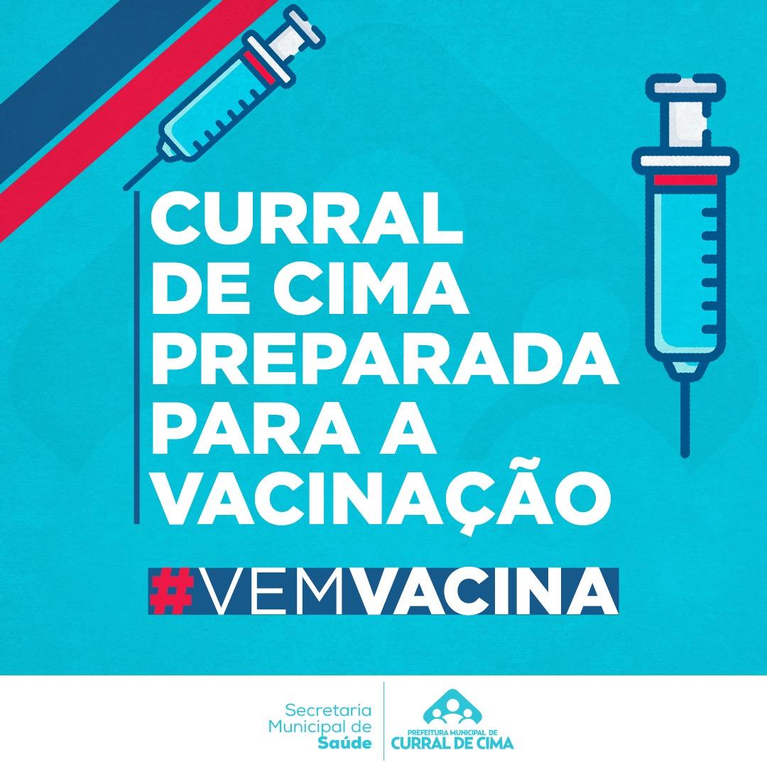 Curral de Cima está preparada para receber a vacina