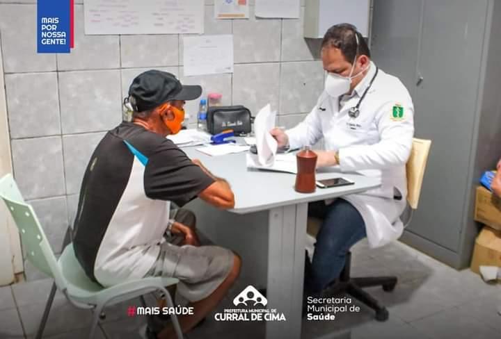 Cardiologista passa a atender na UBS Ângelo Batista uma vez por mês em Curral de Cima