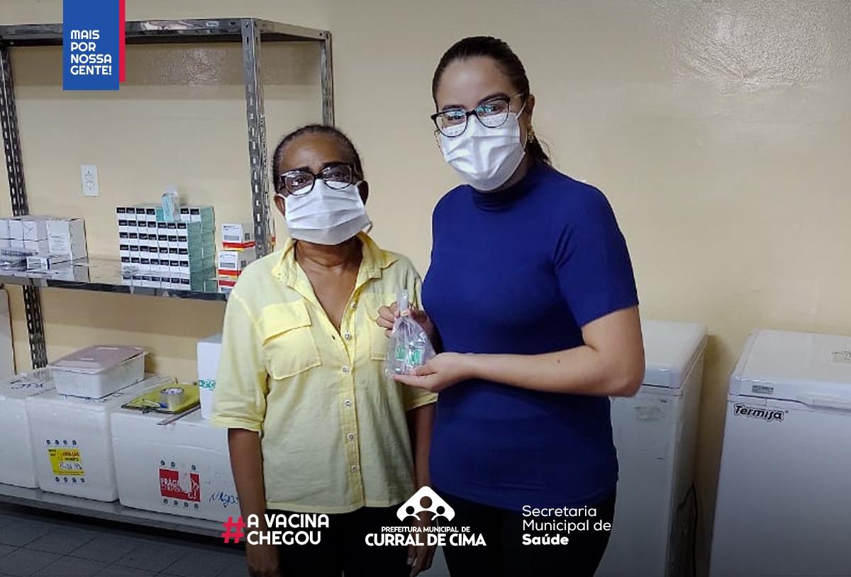 Curral de Cima atinge meta de vacinação contra a Covid-19 e fica em primeiro lugar na região do Vale do Mamanguape
